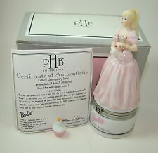 Midwest of Cannon Falls Porcelain Hinged Box Birthday Wishes Barbie PHB