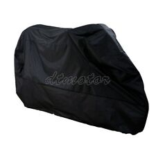 XXXL Size Black Motorcycle Cover Bag For Harley Electra Glide Classic FLHTC