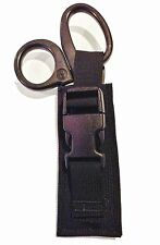 black Tactical Paramedic EMT EMS Medic Scissor Shears Sheath Pouch  USA made