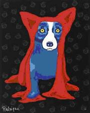 """Blue Dog George Rodrigue      """"Hiding My Blues From You""""    MAKE OFFER    BA DSS"""