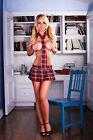 HUSTLER LINGERIE'S REFORM SCHOOL GIRL MINI SKIRTS - (VARIES COLOR)