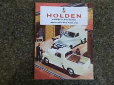 1956 HOLDEN FJ PANEL VAN AND UTE BROCHURE.  100% GUARANTEE.