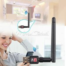 Mini USB 2.0 WiFi Antenna Wireless Network LAN Card Adapter 150Mbps 802.11N/G/B