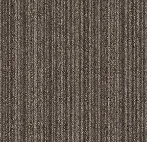 Brown Stripe Carpet Tiles