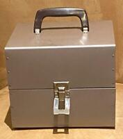 Super 8 8mm 400 Ft METAL 7 In Film Reel Carry Case (Holds 10 Reels) 3 Available