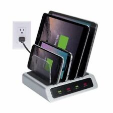 New! Atomi AT805 Visual Charge 4 Port USB Desktop Charge Station Ships Free!