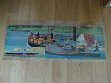 L144 Eagle Cutaway - The World's First Real Steamship Charlotte Dundas - Artwork