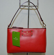 Kate Spade Linet Wellesley Pillboxred Wristlet /Small bag /Handbag/Purse NWT