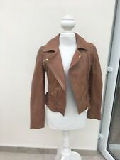 KAREN MILLEN   STUNNING LIMITED EDITION LEATHER JACKET SIZE 10 (NEW WITH TAGS)