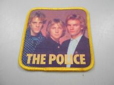 "The Police Rock Band Photo Patch Embroidered Applique 3"" x 3"" Iron/Sew On Sting"