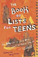 The Book of Lists for Teens-ExLibrary