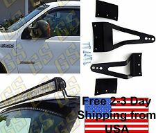 "GS Power 1999-2016 Ford SuperDuty F250 F350 50"" 52"" LED Light Bar Mount Brackets"