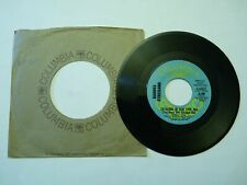 PROMO BARBRA STREISAND FUNNY GIRL/I'D RATHER BE BLUE OVER YOU 45 COLUMBIA 44622