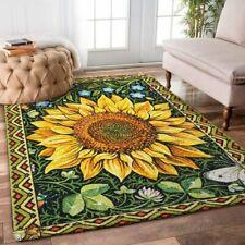 Sun Flower ,Area Rug Decorative Floor Rug Carpet