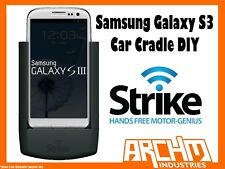 STRIKE ALPHA SAMSUNG GALAXY S3 CAR CRADLE DIY - IN-BUILT CHARGER PROTECT HOLD