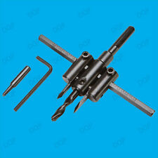 Heavy Duty M2 Alloyed High Speed Steel Circle Cutter Drill Bit 30mm-120mm