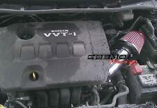 SRI Short Ram Air Intake TOYOTA Corolla Matrix XR 09-13 1.6L/1.8L Cold filter