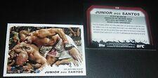 Junior Dos Santos UFC 2011 Topps Moment of Truth Card #156 155 146 131 117 108