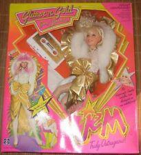 hasbro poupée jem rock'n gold dans boite d'origine 1986