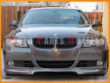 2005-2008 323i 325i 328i 335i 4Dr Sedan BMW Matte Front Hood Black Grille Grill