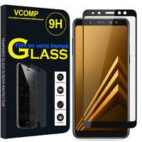 """Lot Film Verre Trempe Protecteur d'écran Samsung Galaxy A8 (2018) A530F 5.6"""""""
