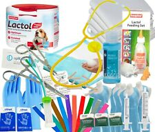 More details for cheap whelping kit 250g lactol puppy milk dog mucus extractor iodine stethoscope