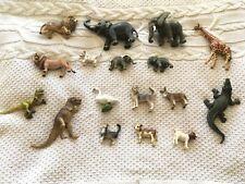 SCHLEICH  ANIMAL TOYS   -  DINOSAURS - ELEPHANTS - LION - SWAN - DONKEY - HUSKEY