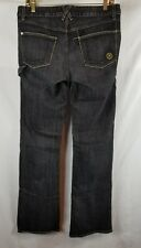 Morphine Generation Black Carpenter Designer Flare Men's Jeans Size 32
