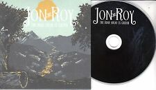JON AND ROY The Road Ahead Is Golden 2017 UK 11-trk promo test CD
