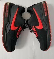 2014 Nike Air Max LTD 3 Mens Size 11 Black/Bright Crimson-Anthracite 687977-066