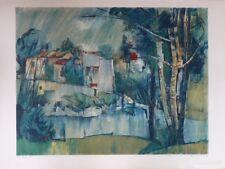 Raoul PRADIER (1923-2017) Lithographie 1958 / Nle Ecole de Paris Jeune peinture