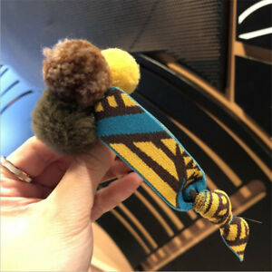 Women's Elastic Rubber Band Hair Ball Hair Rope Ring Ponytail Holder Scrunchies