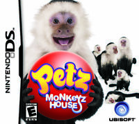 Petz Monkeyz House For Nintendo DS DSi 3DS 2DS Game Only 6E