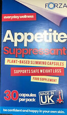 Appetite Suppressant Konjac Root Slimming Food Supplement Weight Loss Caps 30