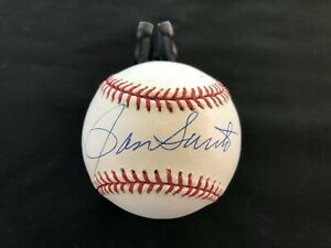 Rawlings Autographed Baseball Possibly Ron Santo???? & Unknown