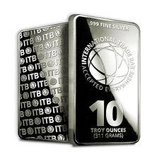 10 oz Silver International Trade Bar