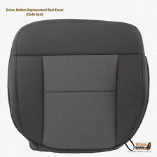 2004 - 2006 Ford F150 Driver Side Bottom Dark Gray Cloth Replacement Seat Cover