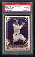 2013 Topps Triple Threads #19 Derek Jeter /650 New York Yankees PSA 10 GEM MINT