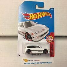 '90 Honda Civic EF #330 * WHITE * 2017 Hot Wheels Case Q & P * C26