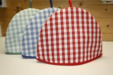 Tea Cosy, Laura Ashley Gingham Fabric.  Shabby chic