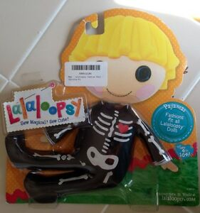 NEW Lalaloopsy Doll Fashion Pack Patch Treasure Chest Halloween Costume PJ