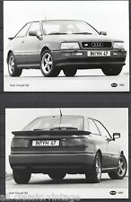 PRESS - FOTO/PHOTO/PICTURE - Audi Coupe Set of 3 Photos 1991