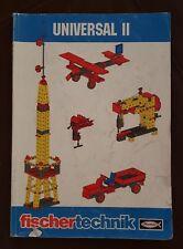 Fischer Technik Instruction Manual Universal II