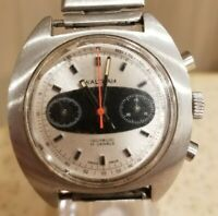Vintage Waltham Surfboard Chronograph watch - 17 jewels Incabloc