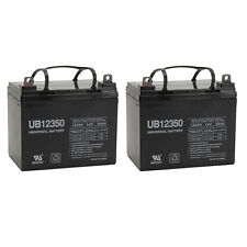 UPG 2 Pack - 12V 35Ah Pride Mobility Jazzy 1107 Wheelchair Replacement Battery