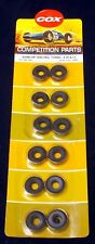 COX 1/24 3381 DUNLOP RACING TYRES - 4.50 X 13, ONE CARD (SIX PAIRS) OLD STOCK