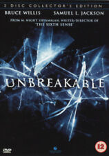 Unbreakable DVD (2001) Bruce Willis