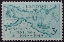 Stamps US 3c Annapolis Tercentenary, Cat. #984 Mint NH/OG