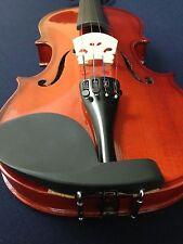 Caraya 3/4 Size Acoustic Violin w/Bow,Chin Rest,Rosin,Bridge,Foam Case-Full Set