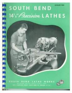 South Bend 14.5 inch Precision Lathes Catalog 5422